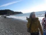 пляж, Черноморское побережье, с.Ольгинка